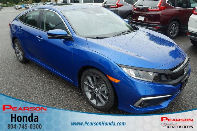 New 2019 Honda Civic Sedan EX CVT