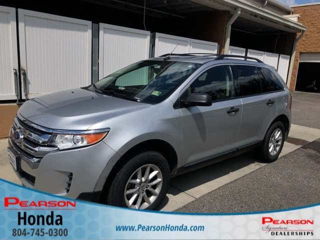 2014 Ford Edge Se >> Pre Owned 2014 Ford Edge Se Sport Utility In Midlothian 3945a