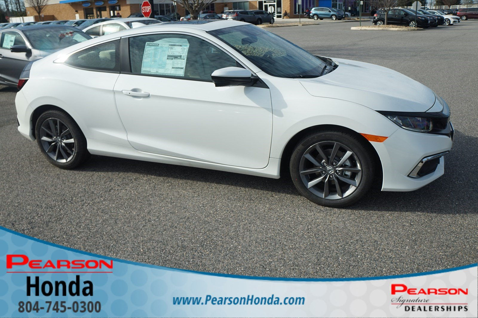 New 2019 Honda Civic Coupe EX CVT