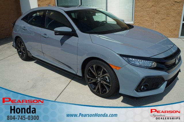 Honda Civic 2019 Honda Civic Sport Touring Spoiler