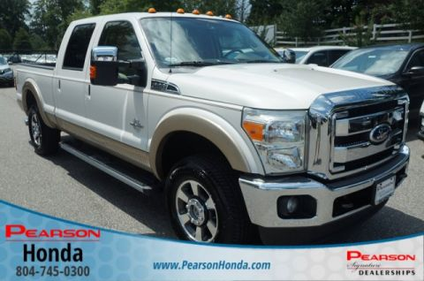 Pre-Owned 2011 Ford Super Duty F-250 SRW Lariat