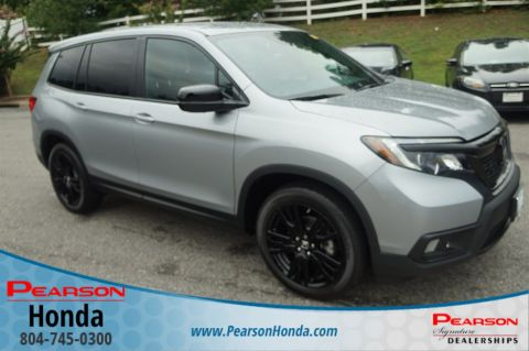 Certified Pre-Owned 2019 Honda Passport Sport